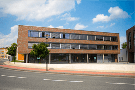 Gebäude der ENTIAC GmbH