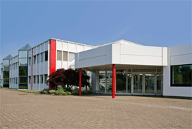 Gebäude der ZWF IT GROUP