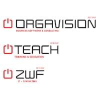 Logo Orgavision & TEACH & ZWF AG